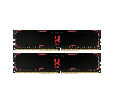 Модуль памяти DDR4 2x16GB/2133 GOODRAM Iridium Black (IR-2133D464L15/32GDC)