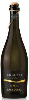Вино игристое Casa Defra Prosecco белое сухое 0.75 л 10.5% (8008900005912)