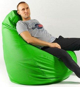 Крісло мішок груша 150х100 см Зелений