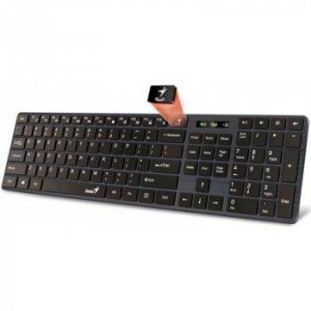 Клавиатура Genius SlimStar 126 USB Black Ukr (31310017407)