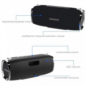 Потужна портативна bluetooth колонка Sound System A6 Hopestar USB