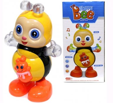 """Іграшка музична """"Танцююча бджілка"""" (5907B)"""