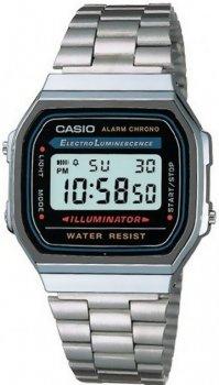 Чоловічі наручні годинники Casio A168WA-1YES