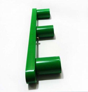 Світильник бра настінно-стельовий на 3-лампи BASE-3 E27 зелений