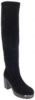 Сапоги Kento 6207/1 замша Черные