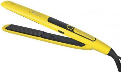 Професійний праску гофре для волосся Tico 100225 Volume Crimper Ceramic 24 мм жовтий Тіко,щипці, для обсягу, інструмент для завивки, випрямляч