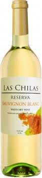 Вино Las Chilas Reserva Sauvignon Blanc белое сухое 0.75 л 12.5% (7808765731565)