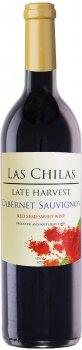 Вино Las Chilas Late Harvest Cabernet Sauvignon красное полусладкое 0.75 л 12% (7808765731589)