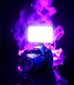 Накамерне світло Ulanzi Vijim VL-120 LED з регулятором яскравості світлодіодна панель