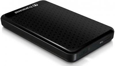 Накопичувач зовнішній HDD ext 2.5 USB 2TB Transcend Portable (TS2TSJ25A3K)
