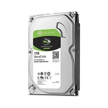 "Жорсткий диск Seagate BarraCuda HDD 1 ТБ 3.5"" 7200 об/хв, 64 MB, SATA III (ST1000DM010)"