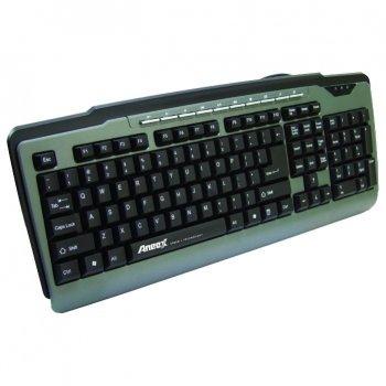Клавиатура проводная Aneex E-K952 USB Black