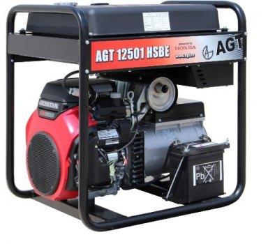 Бензогенератор AGT 12501 HSBE R45 + AVR