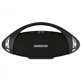 Портативна бездротова Bluetooth колонка Hopestar Hopestar H37 10Вт Black з вологозахистом IPX6 (H37B)