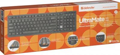 Клавиатура проводная Defender UltraMate SM-530 USB (45530)