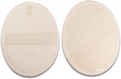 Мочалка-мочалка для душу натуральна Titania 7100 (7100)