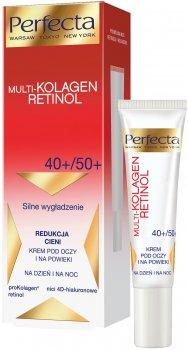 Крем для кожи вокруг глаз Perfecta Multi-Collagen Retinol Eye Cream 40+/50+ 15 мл (5900525050823)