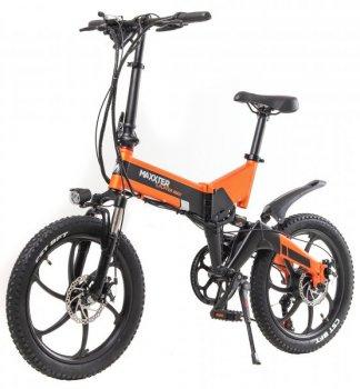 Электровелосипед Maxxter Ruffer Max Black-Orange