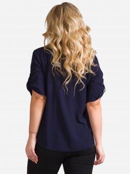 Блузка DEMMA 5636 Темно-синяя