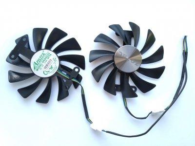 Вентилятор Apistek для видеокарты Zotac AMP GAA8S2U (GFM10012H12SPA) комплект 2 шт №89.1