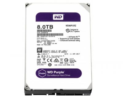 Жорсткий диск Western Digital 8TB Purple (LF-8627)