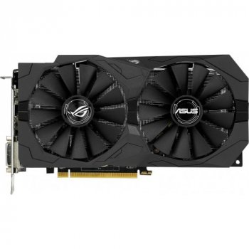 Видеокарта Asus Pci-Ex Radeon Rx470 Rog Strix Oc 4Gb Gddr5 (256Bit) (1250/6600) (2 X Dvi, Hdmi, Displayport) (Strix-Rx470-O4G-Gaming)
