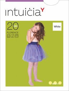 Колготки Intuicia Florence 20 Den 116-122 см White (4823072914473)