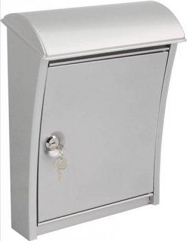 Ящик почтовый Standers нержавеющая сталь 333х123х263 мм (11895520)