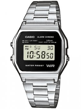 Годинник CASIO A158WEA-1EF Collection 33mm 3ATM