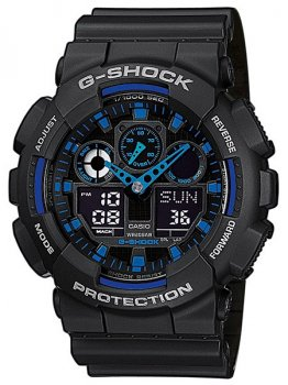 Часы CASIO GA-100-1A2ER G-SHOCK 51mm 20ATM