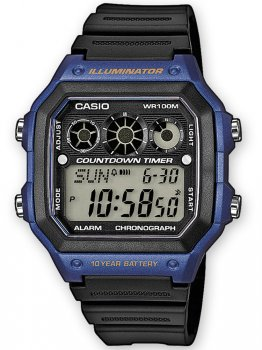 Годинник CASIO AE-1300WH-2AVEF Collection 10ATM 42mm