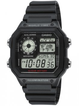 Годинник CASIO AE-1200WH-1AVEF Collection 10ATM 42mm