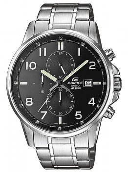 Часы CASIO EFR-505D-1AVEF EDIFICE Chrono 45mm 10ATM