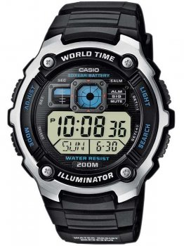 Годинник CASIO AE-2000W-1AVEF Collection 48mm 20ATM