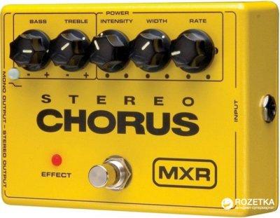 Педаль эффектов Dunlop M134 MXR Stereo Chorus