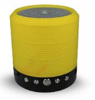 Портативна bluetooth колонка MP3 плеєр WS-631 Yellow (1001 005523)
