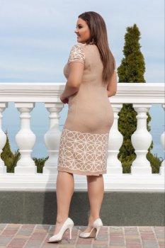 Платье ALDEM 1720 W Бежевое