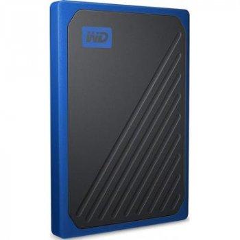 Накопичувач SSD USB 3.0 1TB WD (WDBMCG0010BBT-WESN)