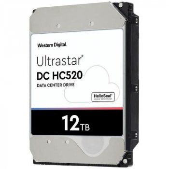 """Жорсткий диск для сервера 3.5"""" 12TB SAS 256MB 7200 rpm Ultrastar DC HC520 WD (0F29532/HUH721212AL5204)"""