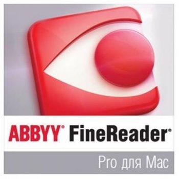 ПО для роботи з текстом ABBYY FineReader Pro для Mac (ESD) for personal use (FR12PM-FMPL-X)