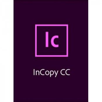 ПО для роботи з текстом Adobe InCopy CC teams Multiple/Multi Lang Lic Subs New 1Year (65297670BA01A12)