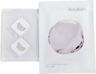 Набір патчів з мікроголками з гіалуронової кислоти для обличчя омолоджувальні Petalare MultiSpot 4 саше на 4 процедури (8809408020359)