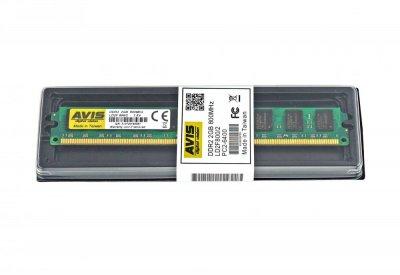 Оперативна пам'ять DDR2-800 2Gb PC2-6400 AVIS LD2F800/2 2048MB (770008489)
