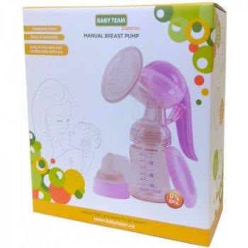 Молоковідсмоктувач Baby Team Механічний Tritan (0090)