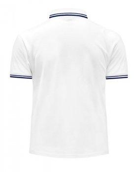 Чоловіча сорочка-поло JHK POLO REGULAR CONTRAST, біла