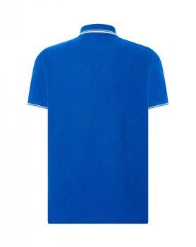Чоловіча сорочка-поло JHK POLO REGULAR CONTRAST, синя