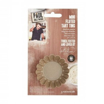 Форма для міні пирогів Kitchen Craft Paul Hollywood 4 предмета 664433