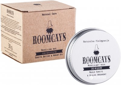 Віск для догляду за вусами та бородою Roomcays 30 г (5907573413365)