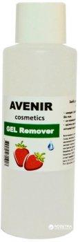 Рідина для зняття гель-лаку Avenir Cosmetics Полуниця 100 мл (4820440811907)