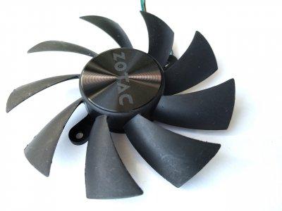 Вентилятор Apistek для видеокарты Zotac GA92S2U (GA92B2U) №171
